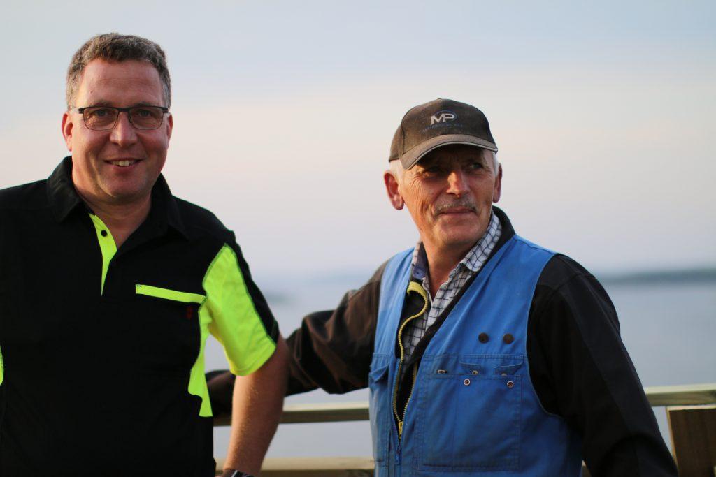 Tomas Blomberg och Jan-Anders Häger