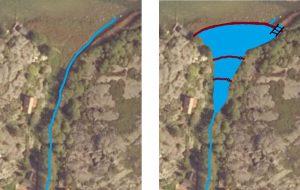våtmarksillustration karta