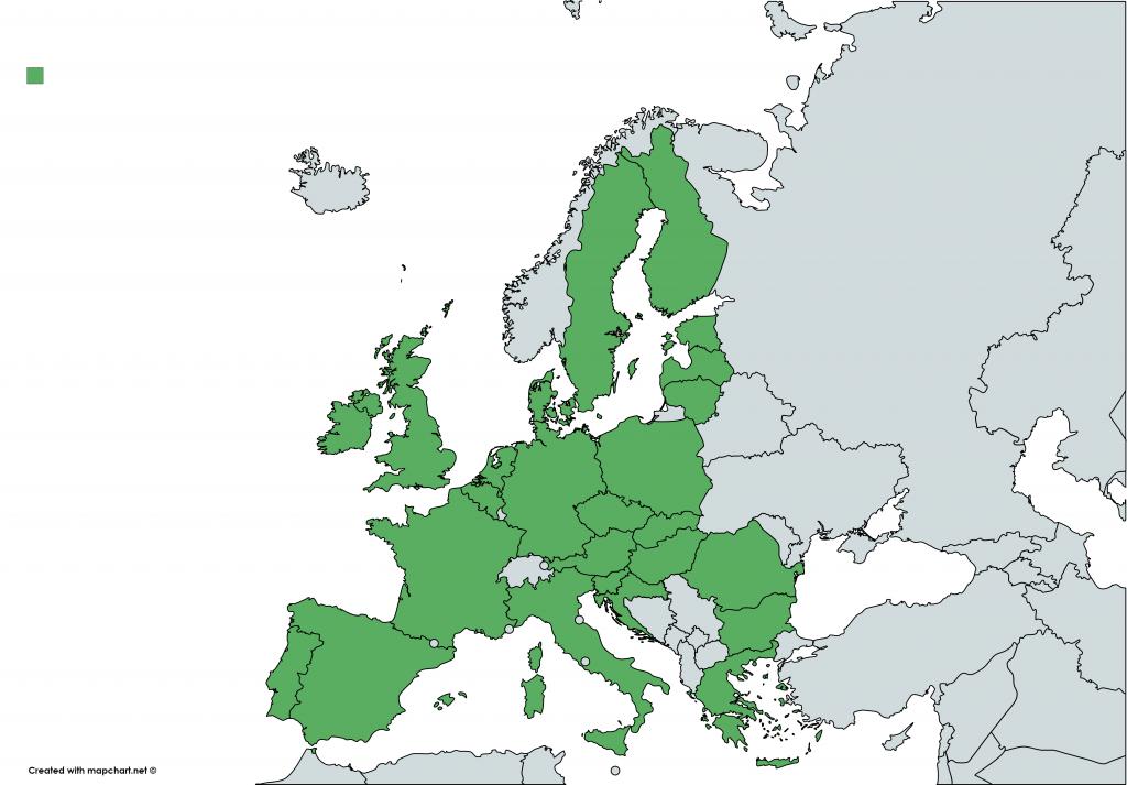 karta eu länder