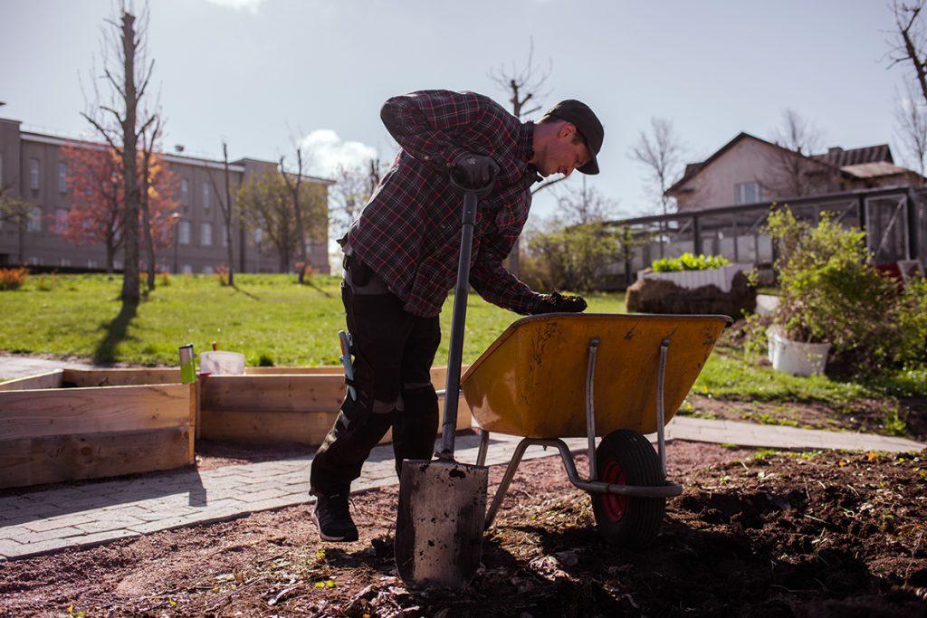 trädgårdsmästare i stadsodling