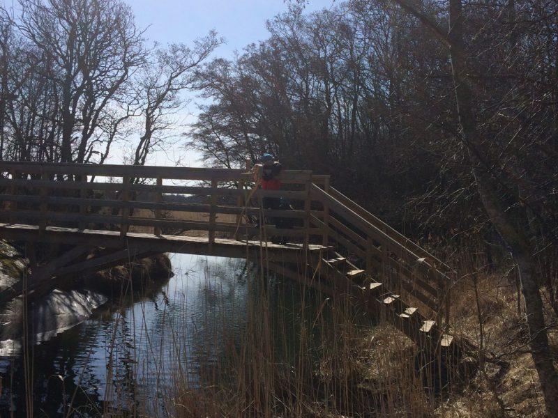 Bro till Jåsholm naturstig